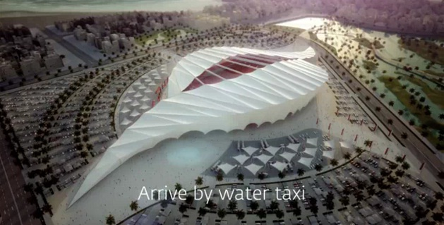 Coupe du monde 2022 stades en plein desert welovebuzz - Stade coupe du monde 2022 ...
