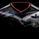 Le maillot de l'Olympique Lyonnais (2012-2013) en 3D