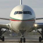 Demi tour pour un avion de la Royal Air Maroc