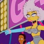 Lady Gaga apparaît dans les Simpsons