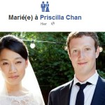 Mark Zuckerberg annonce son mariage sur Facebook