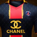 Des maillots de luxe pour le Paris Saint Germain