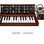 Le meilleur du Doodle Robert Moog