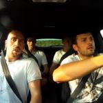 Quand Ribery s'éclate en Mégane RS