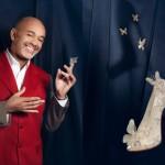 Les souliers de Cendrillon par Christian Louboutin