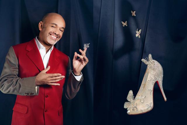 moins cher 0531c 51fc1 Les souliers de Cendrillon par Christian Louboutin - Welovebuzz