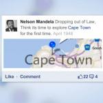 L'histoire de Nelson Mandela racontée sur les réseaux sociaux