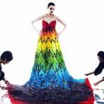 Une robe constituée de 50.000 oursons Haribo