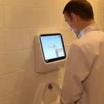 Des urinoirs «jeux vidéos» à l'occasion des JO de Londres 2012
