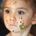 Aelita Andre, peintre à 5 ans