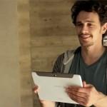 La nouvelle tablette Samsung Galaxy Note 10.1 présentée par James Franco