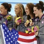 L'équipe olympique américaine de natation reprend «Call Me Maybe»