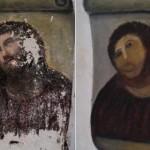 Elle refait le portrait de Jésus Christ