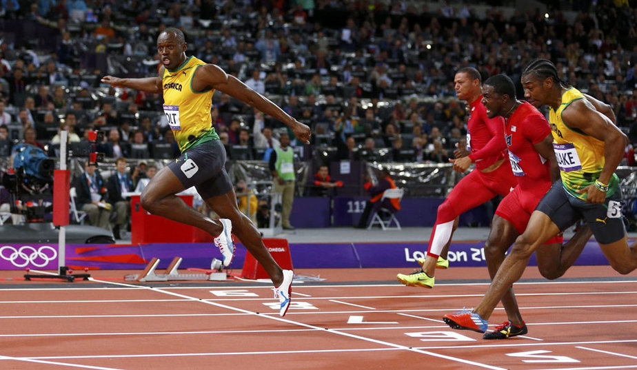 ATTENTION EDITORS - REUTERS LONDON 2012 OLYMPICS PICTURE HIGHLIGHT