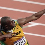 Le 100 mètres de Usain Bolt en images