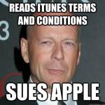 Bruce Willis prépare une action en justice contre Apple