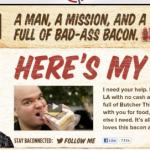 Payer son voyage à travers les Etats-Unis en Bacon, c'est possible