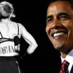 Madonna appelle à voter pour Barack Obama, le «musulman noir»