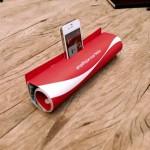 Un magazine transformé en dock pour iPhone 5