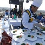 Une première au Maroc : le concept «Dinner in the sky»