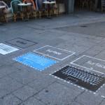 Surface, la tablette à même le sol