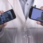 L'iPhone 5 et le Samsung Galaxy SIII réduits en poudre