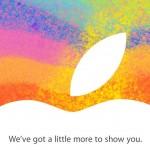 Apple annonce un évènement spécial le 23 Octobre