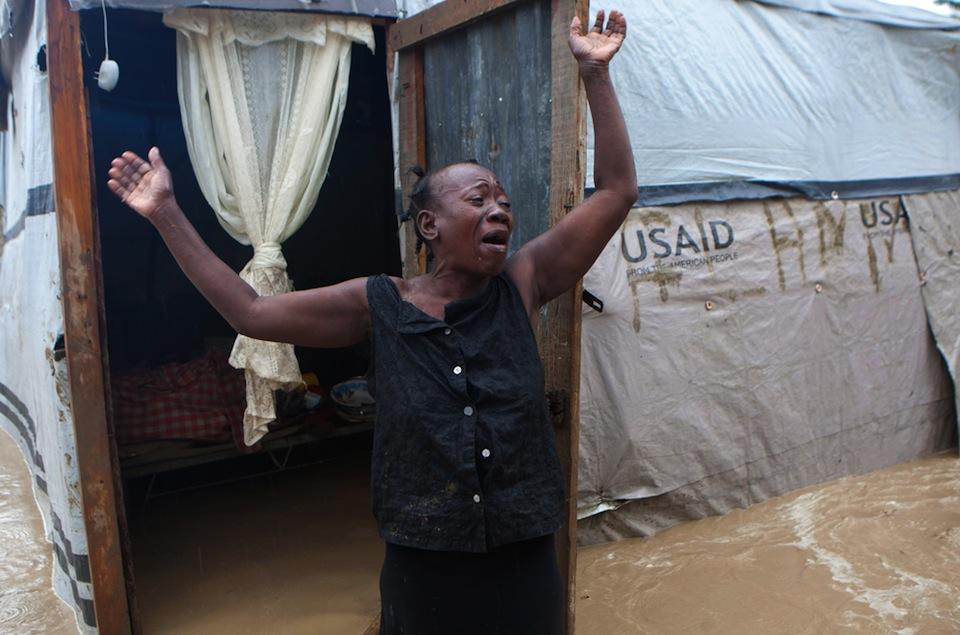 APTOPIX Haiti Tropical Weather