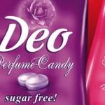 Deo Perfume Candy, le premier bonbon déodorant sur le marché