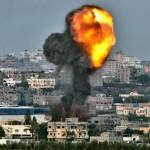Une interview via Skype interrompue par un bombardement sur Gaza