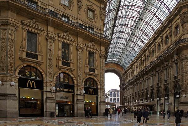 Galleria Vittoria Emanuele – Milan (Italie)
