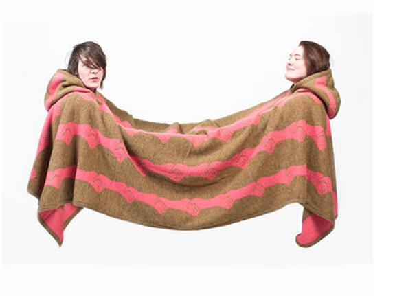 Couverture pour deux personnes