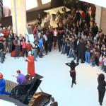 La Vache Qui Rit : Flashmob au Morocco Mall