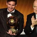 4ème Ballon d'Or pour l'Argentin Lionel Messi