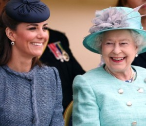 kate Vs elizabeth II