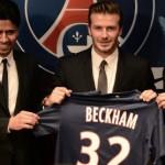 Le PSG officialise enfin l'arrivée de David Beckham