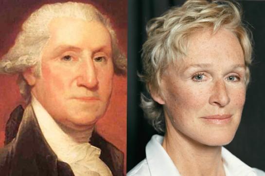 George Washington (premier président des États-Unis) – Glenn Close