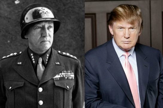 George Patton (général américain de l'US Army pendant la Seconde Guerre mondiale) – Donald Trump
