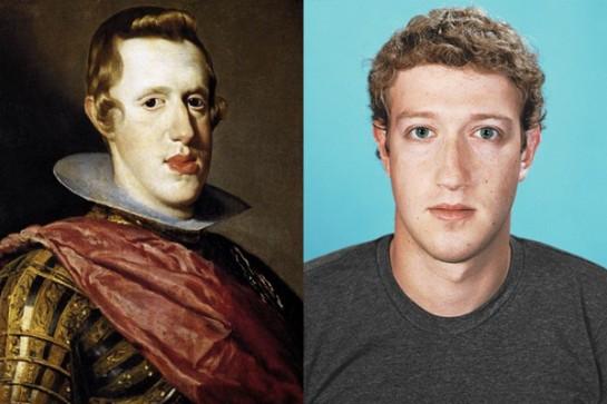 Le roi Philippe IV d'Espagne – Mark Zuckerberg
