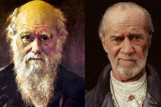 Charles Darwin – George Carlin