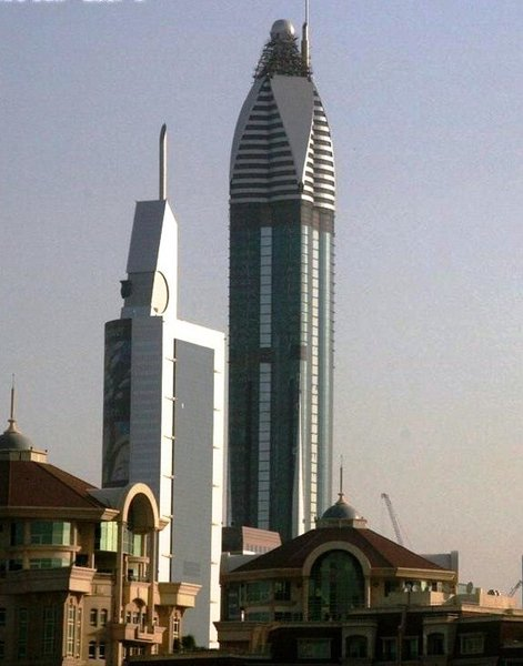 Rose Rayhaan by Rotana : 333m (Dubai, 2009)