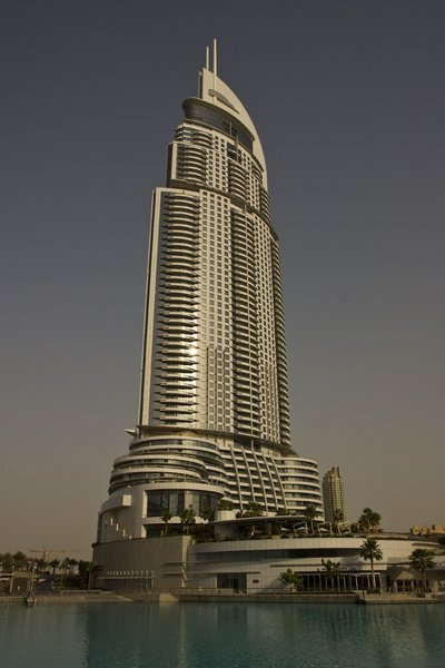The Address Downtown Dubai : 306m (Dubai, 2008) , 294€ la chambre