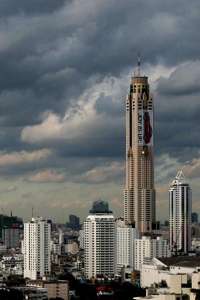 Baiyoke Tower II : 304m (Bangkok, 1997) , 50€ la chambre