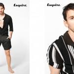 Leo Messi pose pour Dolce & Gabbana sur Esquire