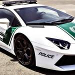 La police de Dubaï roule en Lamborghini Aventador