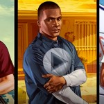 Grand Theft Auto V : Micheal, Franklin & Trevor