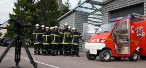 Les sapeurs-pompiers des Nuits de St-Georges (Photo SDR)