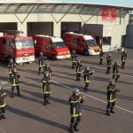 Flash Mob : Quand les sapeurs-pompiers se mettent à la Zumba