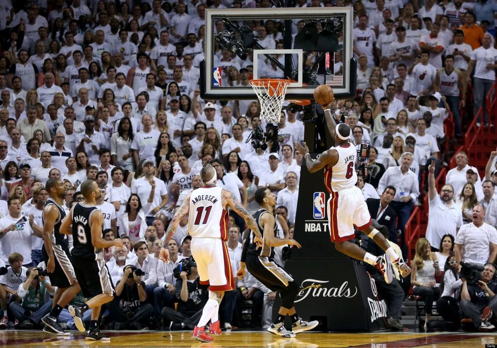 San Antonio Spurs v Miami Heat - Game Two