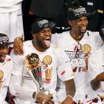 Le Heat de Miami, champions de la NBA